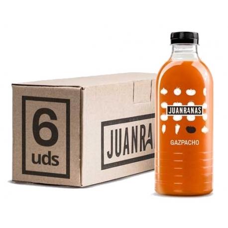 Pack Gazpacho Natural sin Pasteurizar Juan Ranas 1L