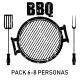 Pack 'BARBACOA IBÉRICA' 6-8 Personas