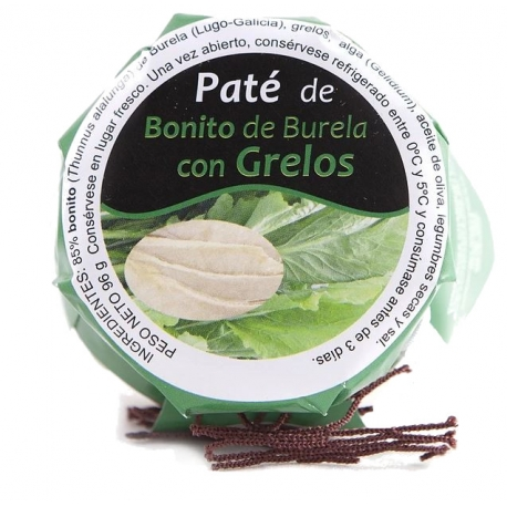 Paté de Bonito de Burela con Grelos Conservas Chanquete
