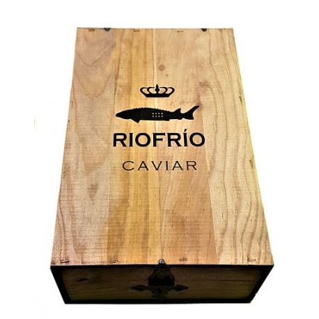 Estuche regalo de madera Riofrío