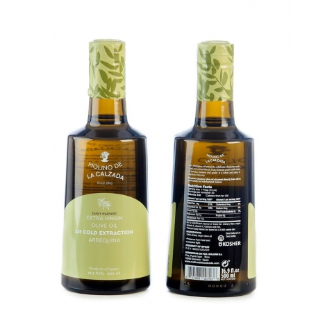 Pack AOVE Roldán Oliva Arbequina Bell 500ml