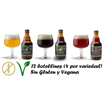 Pack Degustación Cerveza Sin Gluten Vegana